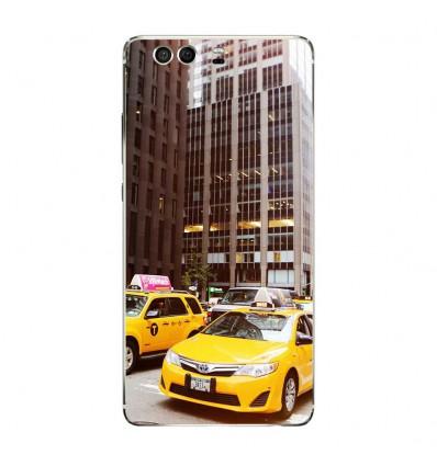 Coque en silicone Huawei P9 - NY Taxi