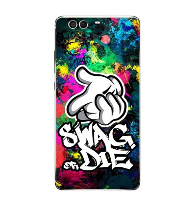 Coque en silicone Huawei P9 - Swag or die