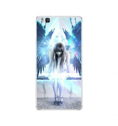 Coque en silicone Huawei P9 Lite - Angel