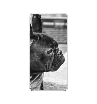 Coque en silicone Huawei P9 Lite - Bulldog