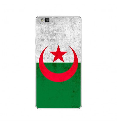 Coque en silicone Huawei P9 Lite - Drapeau Algérie