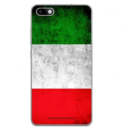 Coque en silicone Wiko Lenny 3 - Drapeau Italie