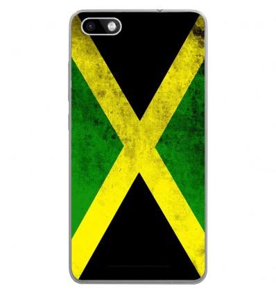 Coque en silicone Wiko Lenny 3 - Drapeau Jamaïque