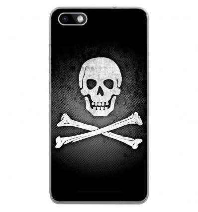 Coque en silicone Wiko Lenny 3 - Drapeau Pirate