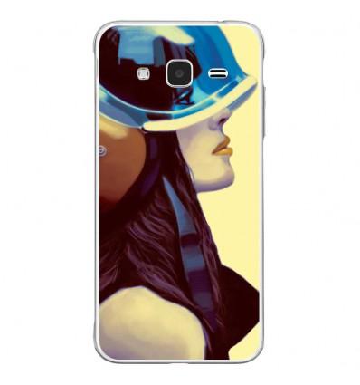 Coque en silicone Samsung Galaxy J3 2016 - ML Helmetraus