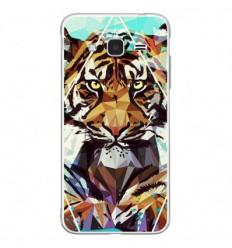 Coque en silicone Samsung Galaxy J3 2016 - ML It Tiger