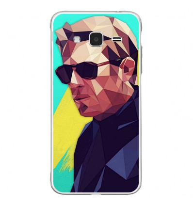 Coque en silicone Samsung Galaxy J3 2016 - ML King of Cool