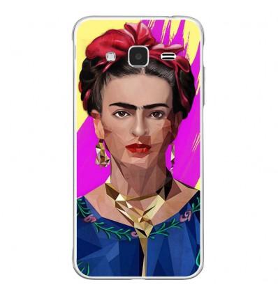 Coque en silicone Samsung Galaxy J3 2016 - ML Modern Frida