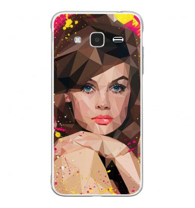 Coque en silicone Samsung Galaxy J3 2016 - ML Vogue Muse