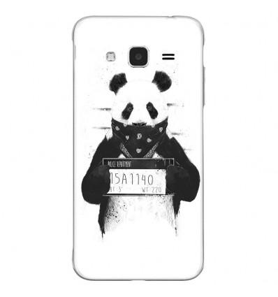 Coque en silicone Samsung Galaxy J3 2016 - BS Bad Panda