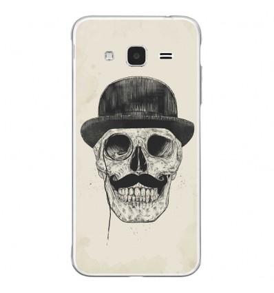 Coque en silicone Samsung Galaxy J3 2016 - BS Class skull