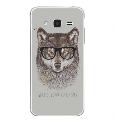 Coque en silicone Samsung Galaxy J3(2016) - Balasz Solti (Granny)