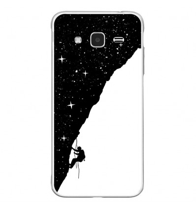 Coque en silicone Samsung Galaxy J3 2016 - BS Nightclimbing