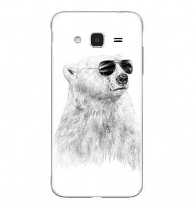 Coque en silicone Samsung Galaxy J3 2016 - BS Sunny bear