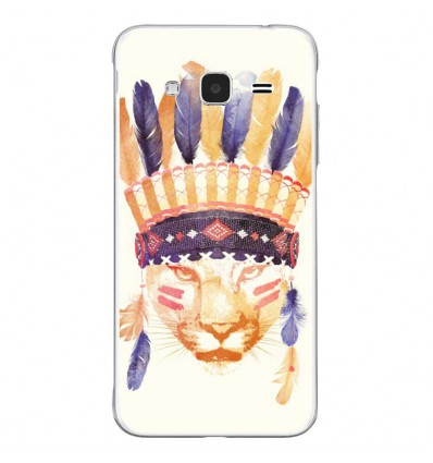 Coque en silicone Samsung Galaxy J3 2016 - RF Big Chief