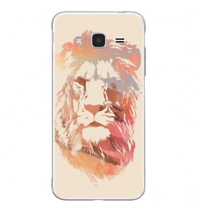 Coque en silicone Samsung Galaxy J3 2016 - RF Desert Lion