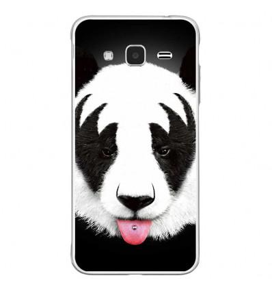 Coque en silicone Samsung Galaxy J3(2016) - Robert Farkas (Kiss Of Panda)