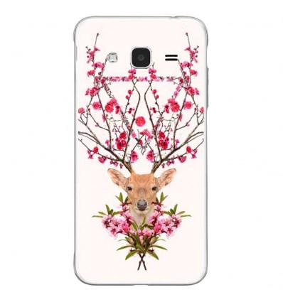 Coque en silicone Samsung Galaxy J3 2016 - RF Spring deer