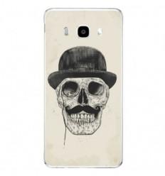 Coque en silicone Samsung Galaxy J5 2016 - BS Class skull