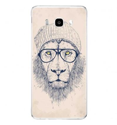 Coque en silicone Samsung Galaxy J5 2016 - BS Cool Lion