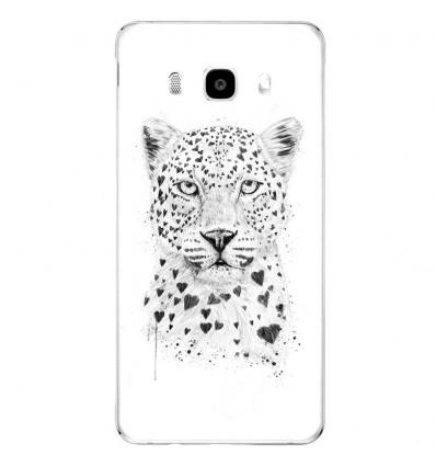 Coque en silicone Samsung Galaxy J5 2016 - BS Love leopard