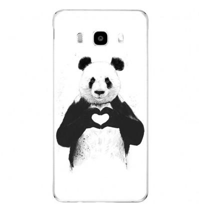Coque en silicone Samsung Galaxy J5(2016) - Balasz Solti (Love Panda)