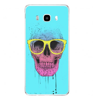 Coque en silicone Samsung Galaxy J5 2016 - BS Skull glasses