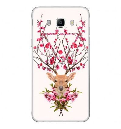 Coque en silicone Samsung Galaxy J7 2016 - RF Spring deer