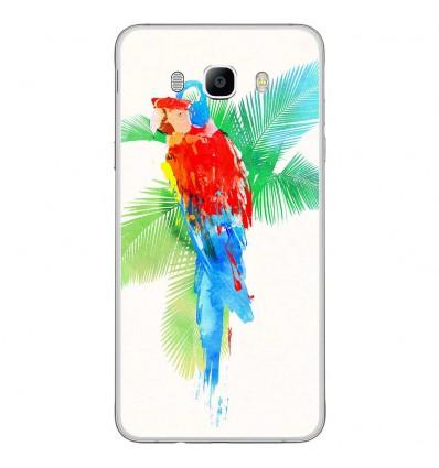 Coque en silicone Samsung Galaxy J7 2016 - RF Tropical party