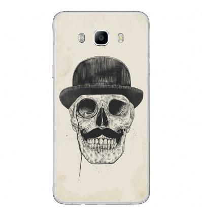 Coque en silicone Samsung Galaxy J7 2016 - BS Class skull