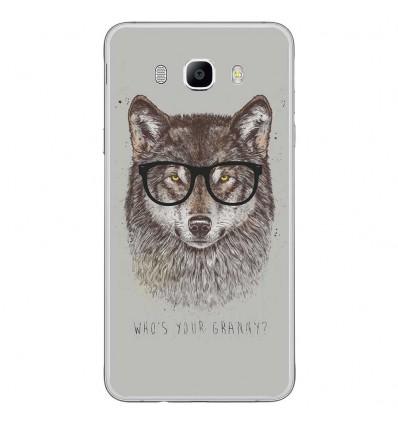 Coque en silicone Samsung Galaxy J7 2016 - BS Granny