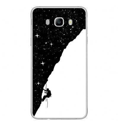 Coque en silicone Samsung Galaxy J7 2016 - BS Nightclimbing
