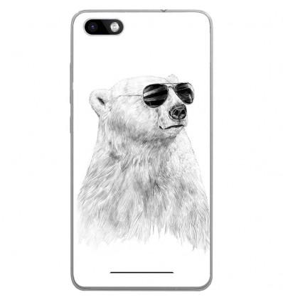 Coque en silicone Wiko Lenny 3 - BS Sunny bear