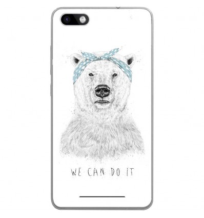 Coque en silicone Wiko Lenny 3 - BS We can do it