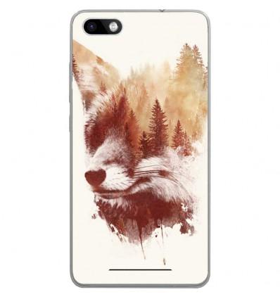 Coque en silicone Wiko Lenny 3 - RF Blind Fox