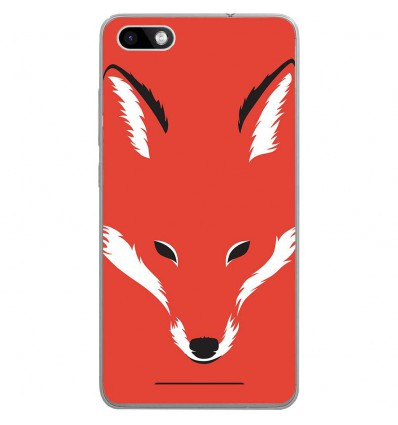 Coque en silicone Wiko Lenny 3 - RF Foxy Shape