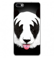 Coque en silicone Wiko Lenny 3 - RF Kiss Of Panda