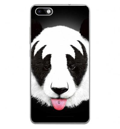 Coque En Silicone Wiko Lenny 3 Rf Kiss Of Panda