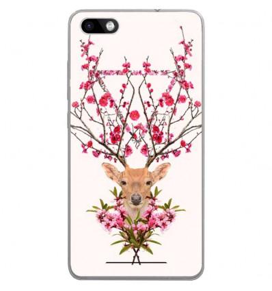 Coque en silicone Wiko Lenny 3 - RF Spring deer