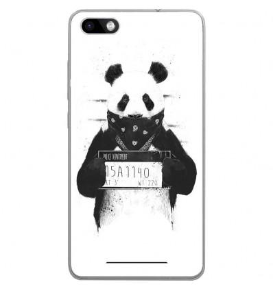 Coque en silicone Wiko Lenny 3 - BS Bad Panda