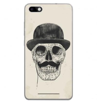 Coque en silicone Wiko Lenny 3 - Balasz Solti (Class skull)
