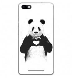 Coque en silicone Wiko Lenny 3 - BS Love Panda