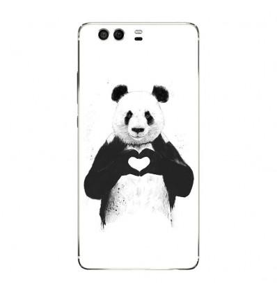Coque en silicone Huawei P9 - BS Love Panda