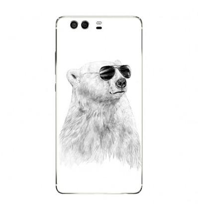 Coque en silicone Huawei P9 - BS Sunny bear