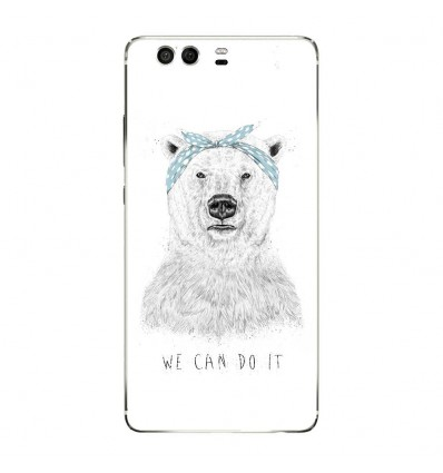 Coque en silicone Huawei P9 - BS We can do it