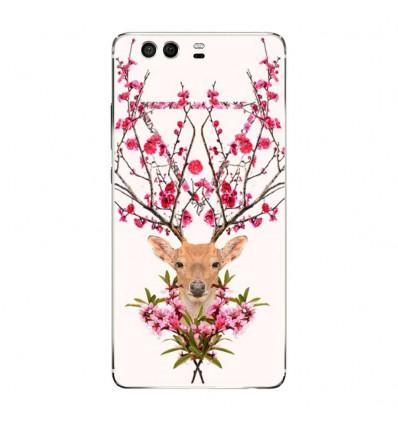 Coque en silicone Huawei P9 - RF Spring deer