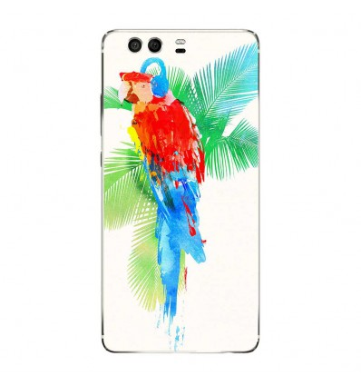 Coque en silicone Huawei P9 - RF Tropical party