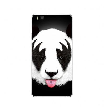 Coque en silicone Huawei P9 Lite - RF Kiss Of Panda