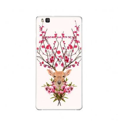 Coque en silicone Huawei P9 Lite - RF Spring deer