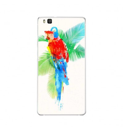 Coque en silicone Huawei P9 Lite - RF Tropical party